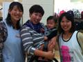 10月7日の担当は、佐藤由美子さん、天方さんです(左より)